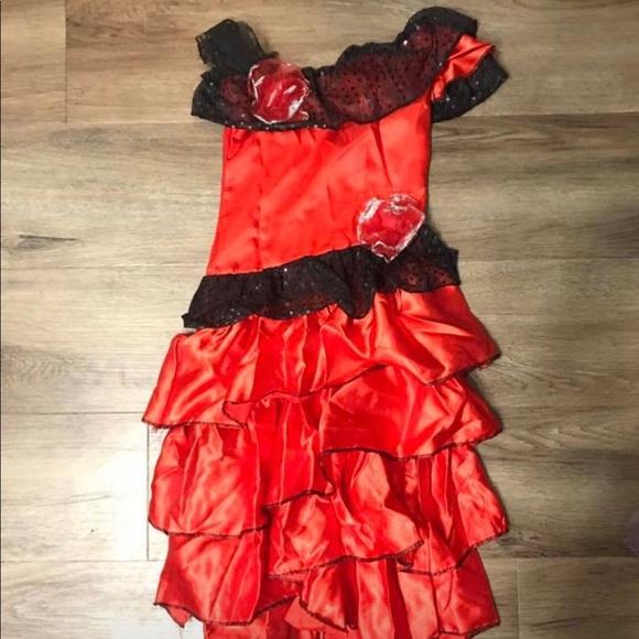 34d0d5f27159 Little Princess Costumes | Girls Spanish Senorita Dresscostume ...